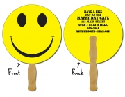 Circle Hand Fans Back View