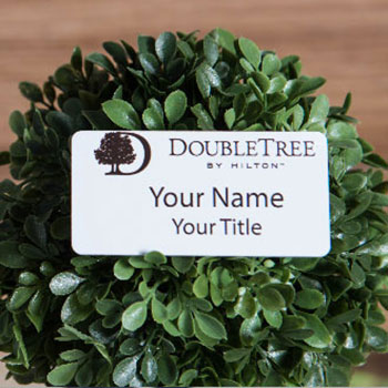 "Custom 1.5"" x 3"" Rectangle Name Badges"