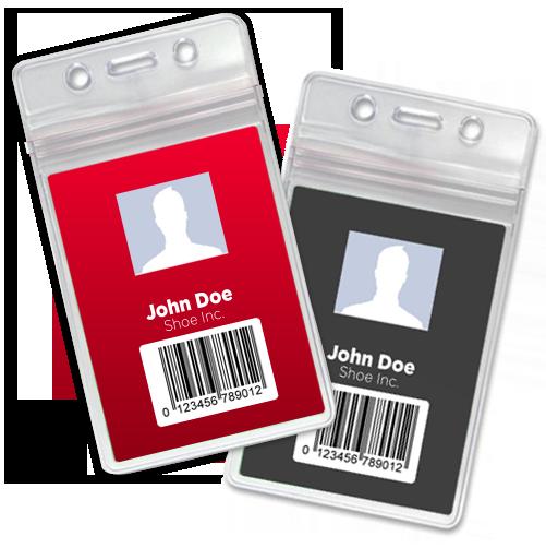Zip Badge Holders
