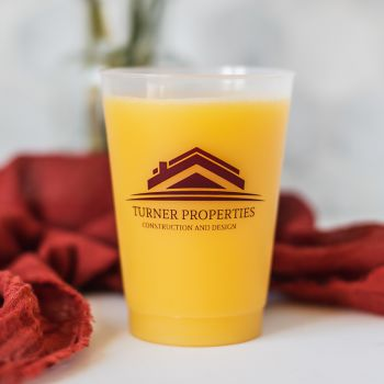14oz Frosted Stadium Cups