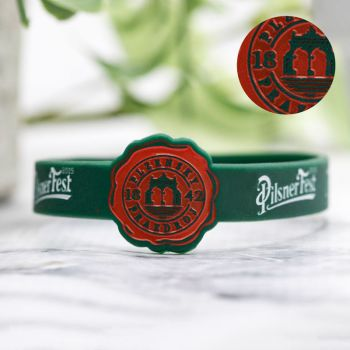 1/2 Inch Ink Injected Figured Wristbands