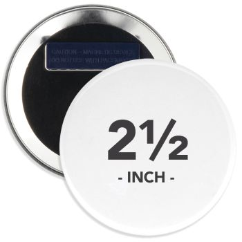2.5 Inch Round Wearable Clothing Magnet Buttons