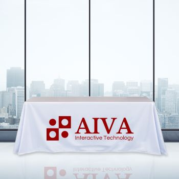 6FT Trade Show Table Cover