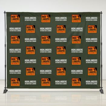 8ft X 10ft Step & Repeat Fabric Banner