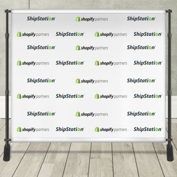 8ft x 10ft Step & Repeat Banner