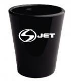 Black Shot Glass- 1.5 oz.