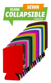Blank High Quality Collapsible Coolies