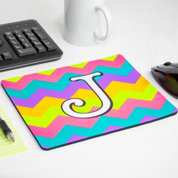 Fluorescent Neon Custom Printed Large Mouse Pads