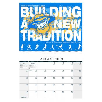 Full Color Custom Cover Wall Calendar - 11 x 17 Inches