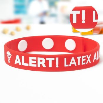 Printed Silicone Adjustable Wristbands
