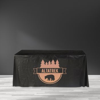"""Recyclable Plastic Table Cover - 65"""" x 132"""""""