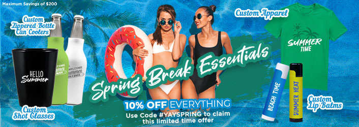 Spring Break - Promotional Products 2020