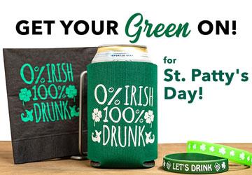 Saint Patrick Custom Promotional Products
